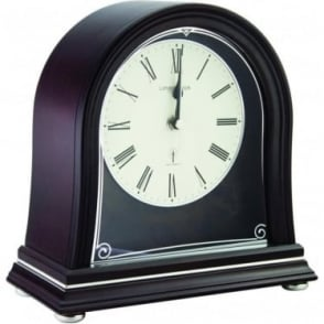 Radio controlled Wooden Mantle Clock 06412