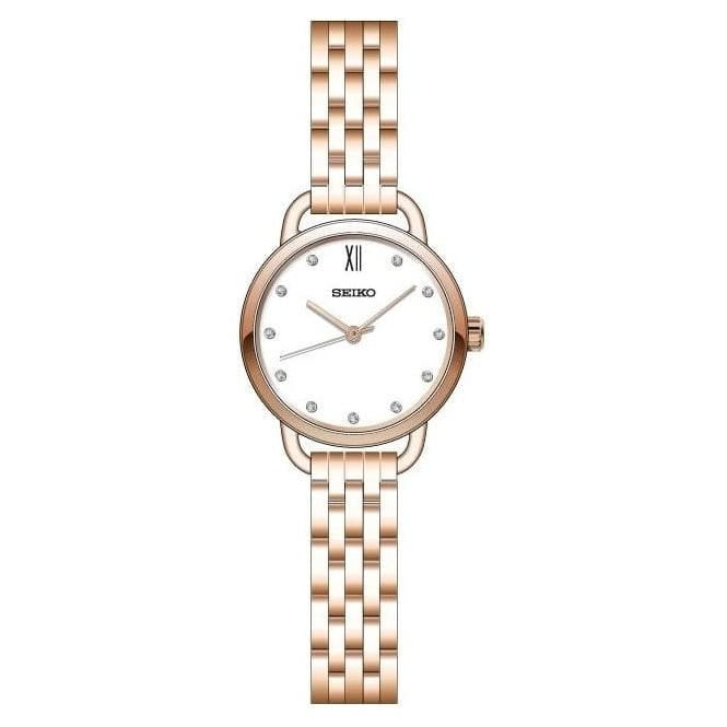 Rose Gold Tone Ladies Quartz Watch on Bracelet SUR698P1