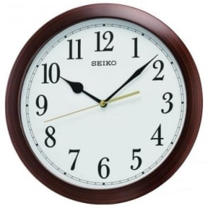 Round Battery Wall Clock Diameter 28cm QXA597B