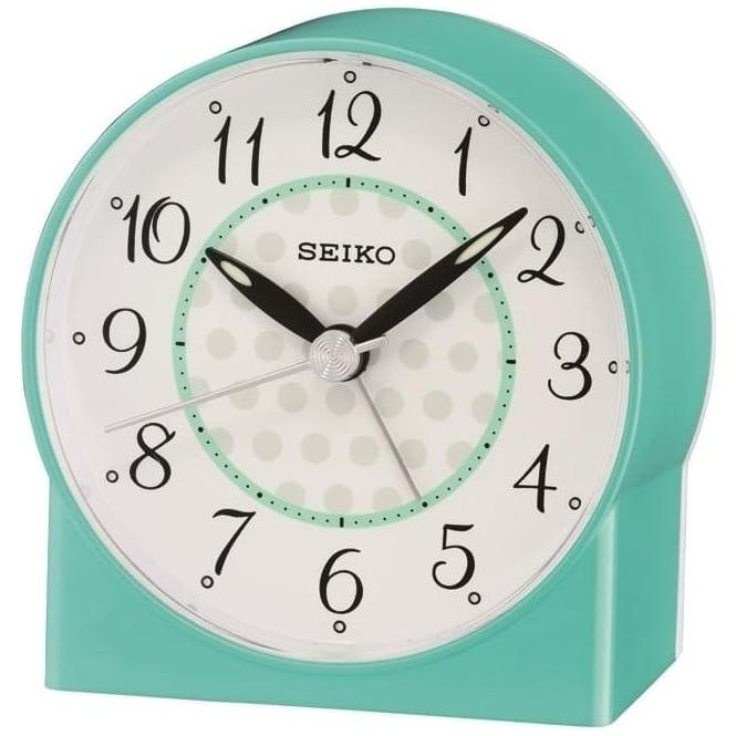 Seiko Clocks Seiko Bedside Battery Beep Alarm Clock QHE136L