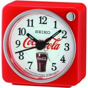 Beep Red Alarm Clock Coca Cola QHE905R