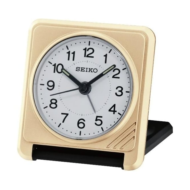 Seiko Clocks Seiko Travel Folding Alarm Clock QHT015G