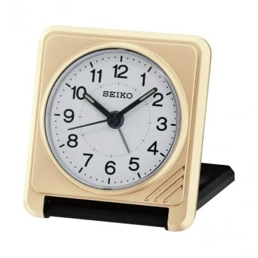 Seiko Travel Folding Alarm Clock QHT015G