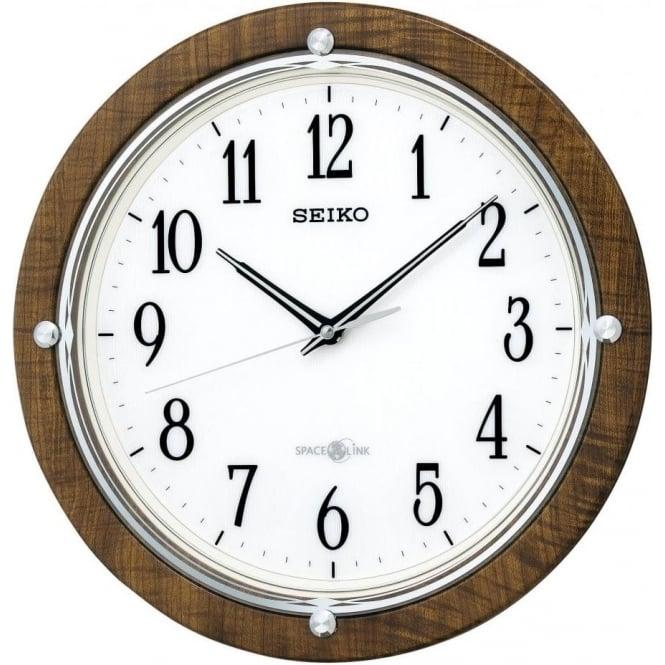 Seiko Clocks Seiko Gps Radio Controlled Battery Wall Clock