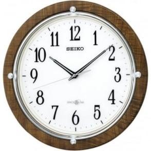Seiko GPS Radio Controlled Battery Wall Clock QXZ004B