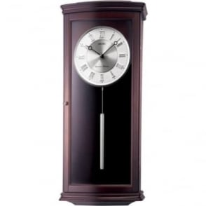 Seiko Quartz Wooden Wall Clock with Westminster Chime QXH025B
