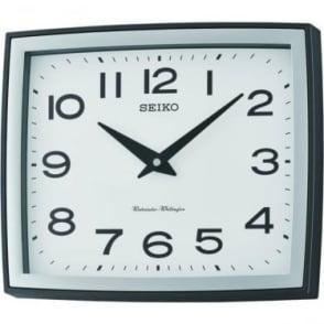 Seiko Square Quartz Battery Westminster Chime Wall Clock QXD211K