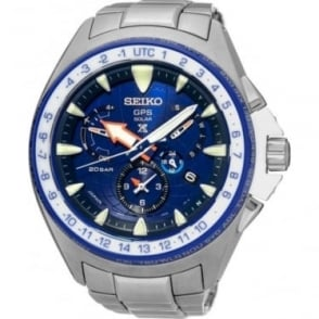 Gents Seiko GPS Solar Prospex MarineMaster Watch SSF001J1