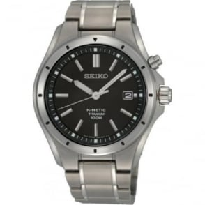 Gents Titanium Kinetic Bracelet Watch SKA493P1
