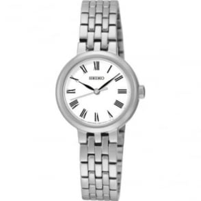 Ladies Stainless Steel Seiko Quartz Watch on Bracelet SRZ461P1