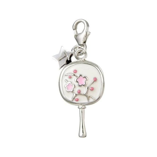 Tingle London Silver Hand Mirror Charm SCH20