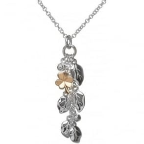 Silver & Irish Gold Flora & Fauna Pendant H-40005