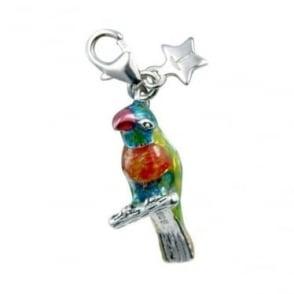 Silver Parrot Charm SCH169