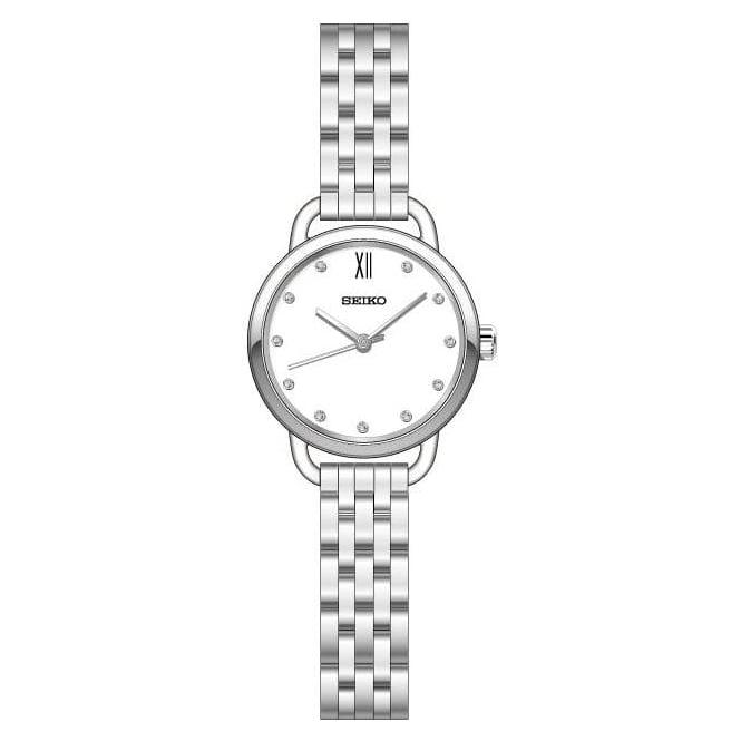 Solar Ladies Stainless Steel Watch on Bracelet SUR697P1