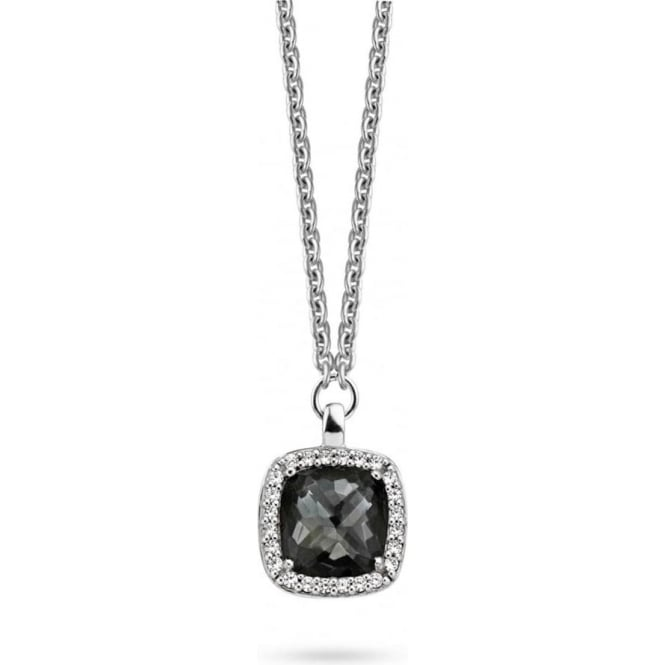 Sterling Silver Cubic Zirconia Pendant 3792BL