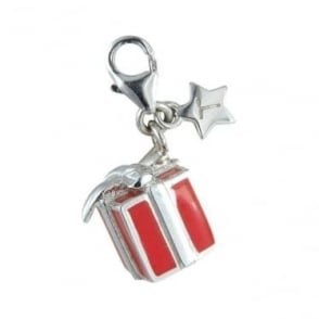 Sterling Silver Gift Box Tingle Charm SCH100