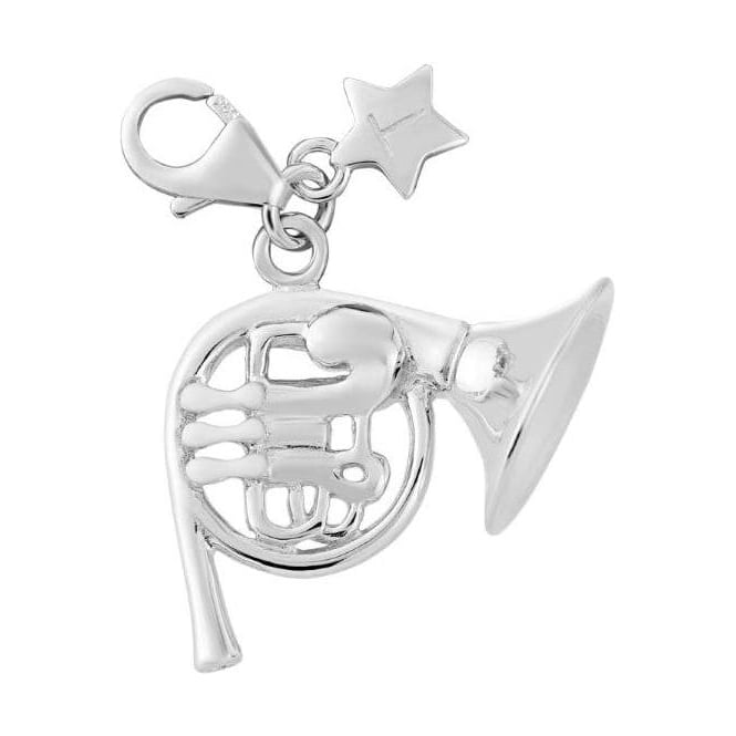 Tingle London Sterling Silver Musical French Horn Charm SCH277