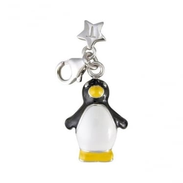 Sterling Silver Penguin Charm SCH93