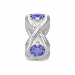 Tanzania Blue Infinity Ocean Silver