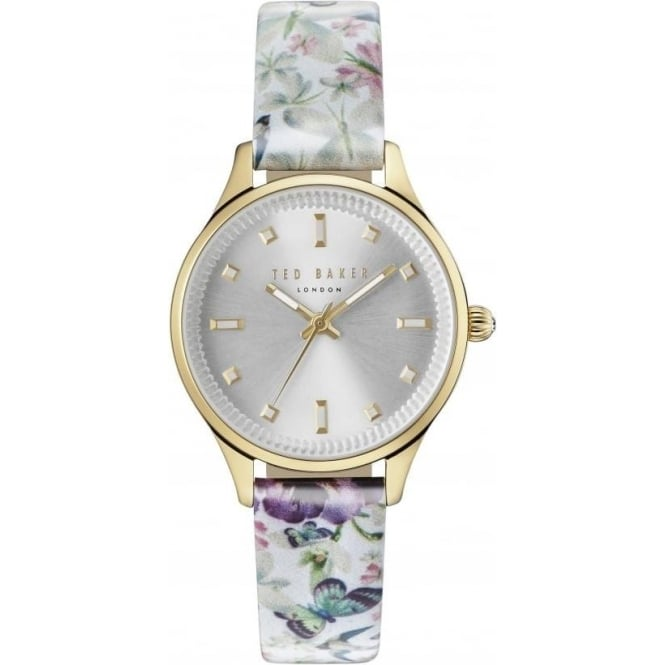 Ted Baker Watches Ladies Gold Tone Ted Baker Quartz Watch on Strap TE10031554