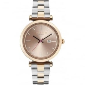 Ladies Rose and Steel Ted Baker Bracelet Watch TE10031523