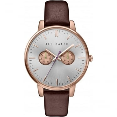 Ted Baker Rose Gold Tone Quartz Watch on Strap TE10030748