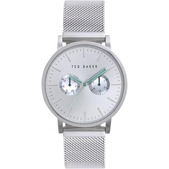Ted Baker Watches Ted Baker Stainless Steel Watch on Mesh Bracelet TE3037