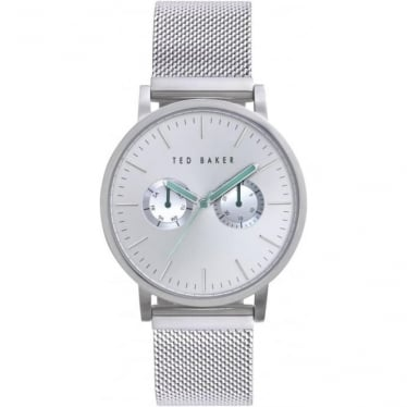 Ted Baker Stainless Steel Watch on Mesh Bracelet TE3037