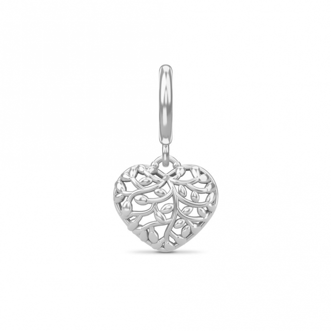 Endless Jewelry Twisted Heart Love Silver
