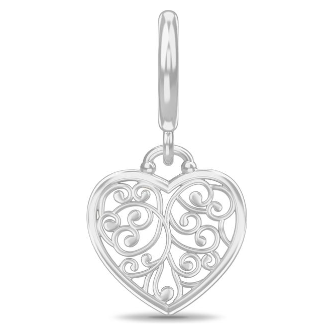 Endless Jewelry Twisted Heart Silver