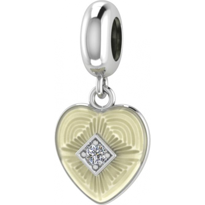 Endless Jewelry White Big Heart