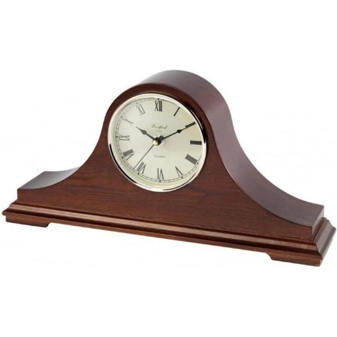 Woodford Wooden Napoleon Quartz Mantle Clock 1443