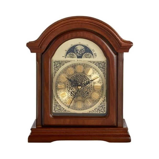 Acctim Wooden Radio Controlled Westminster Chime Mantle Clock 77066