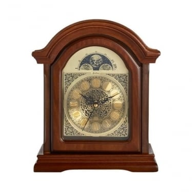 Wooden Radio Controlled Westminster Chime Mantle Clock 77066