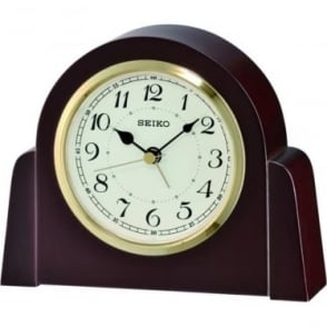 Wooden Seiko Quartz Mantle Clock QXE044B