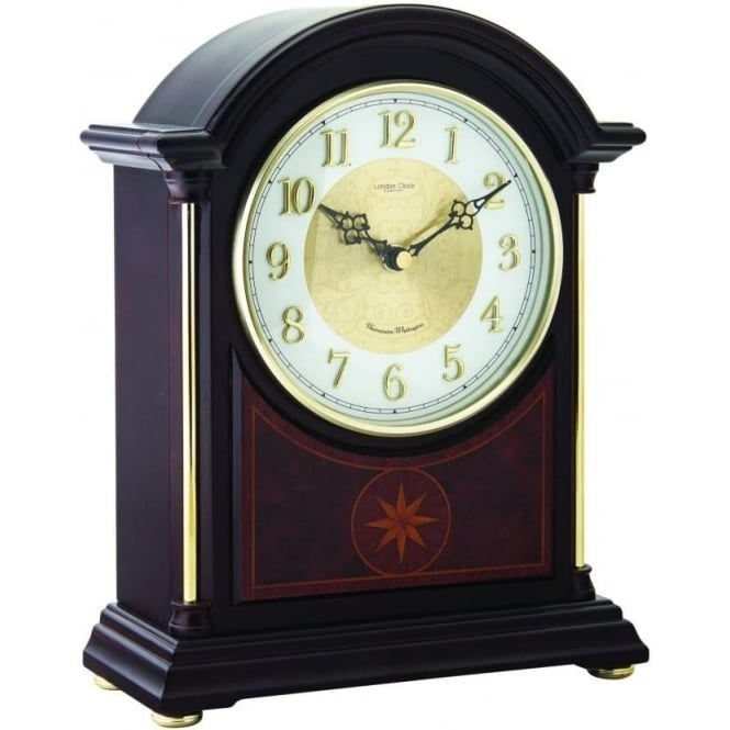 London Clock Company Wooden Westminster Chime Mantle Clock 06409