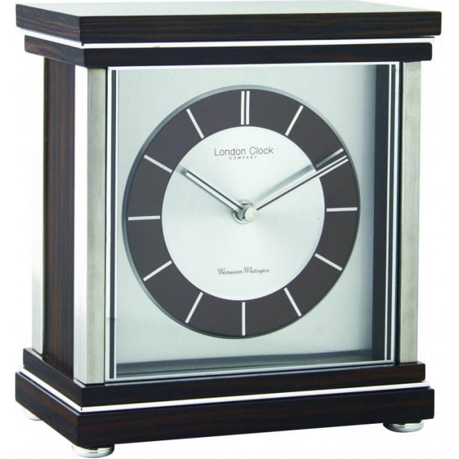 London Clock Company Wooden Westminster Chime Mantle Clock