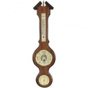 Woodford Wooden Banjo Barometer Weather Forecast 1613