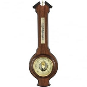Woodford Wooden Hanging Barometer 1618