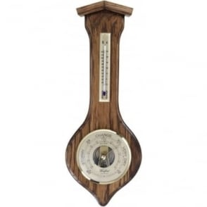 Woodford Wooden Hanging Barometer 1623