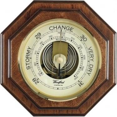 Woodford Wooden Hexagonal Barometer 1612