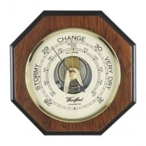 Woodford Wooden Hexagonal Barometer 1616